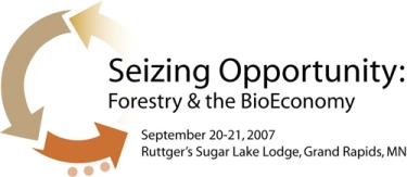 Forestry and the Bioeconomy Conference Logo